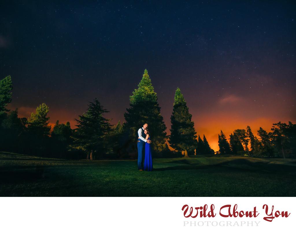 dramatic oakland wedding photography
