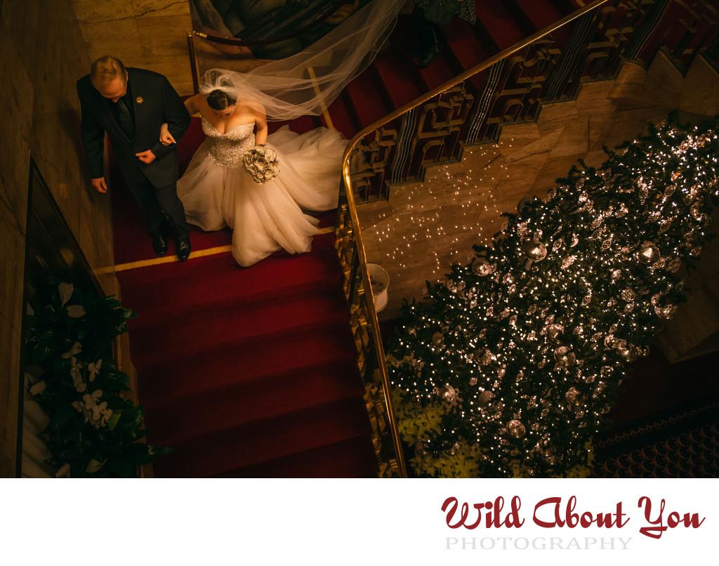 sf city club wedding photography