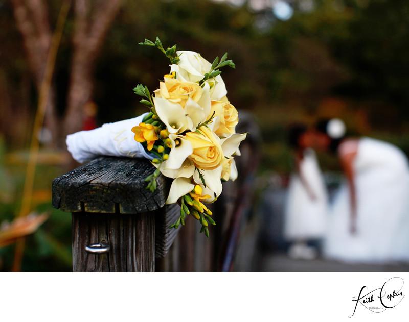 Lewis Ginter Botanical Garden wedding photographer
