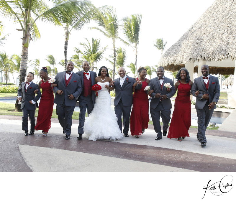 Top black destination wedding photographer
