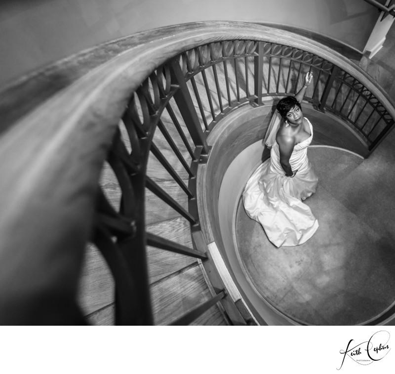 Chrysler Museum of Art wedding photographer Keith Cephus