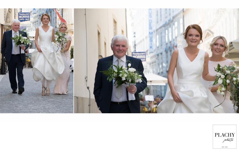 wedding in vienna city