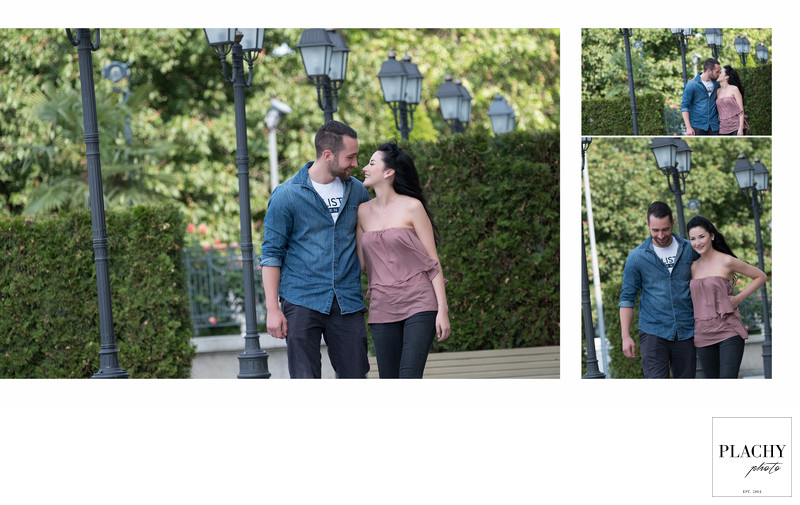 Engagement  Photo-Session In Vienna, Austria