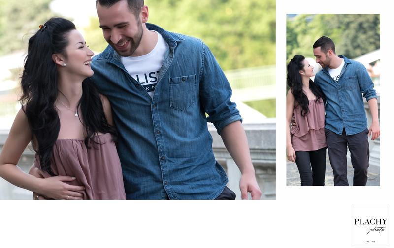 Love Story Photography In Public Garden Vienna