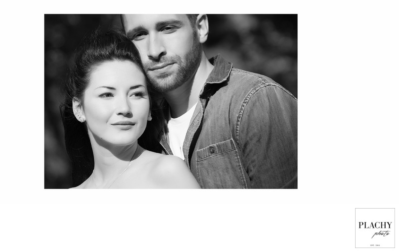 Portraiture Wedding Photography  in Black and White