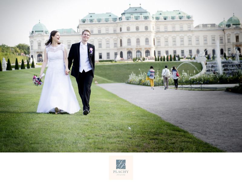 Vienna wedding photographer Jan Plachy - Belvedere