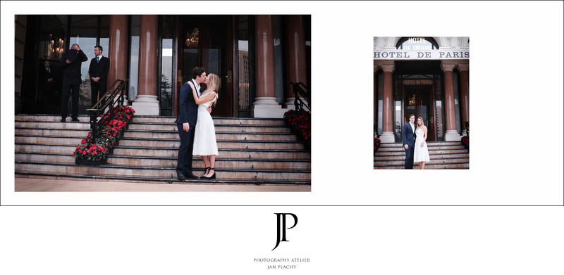 Vienna Wedding Photographer in hotel de Paris Monaco