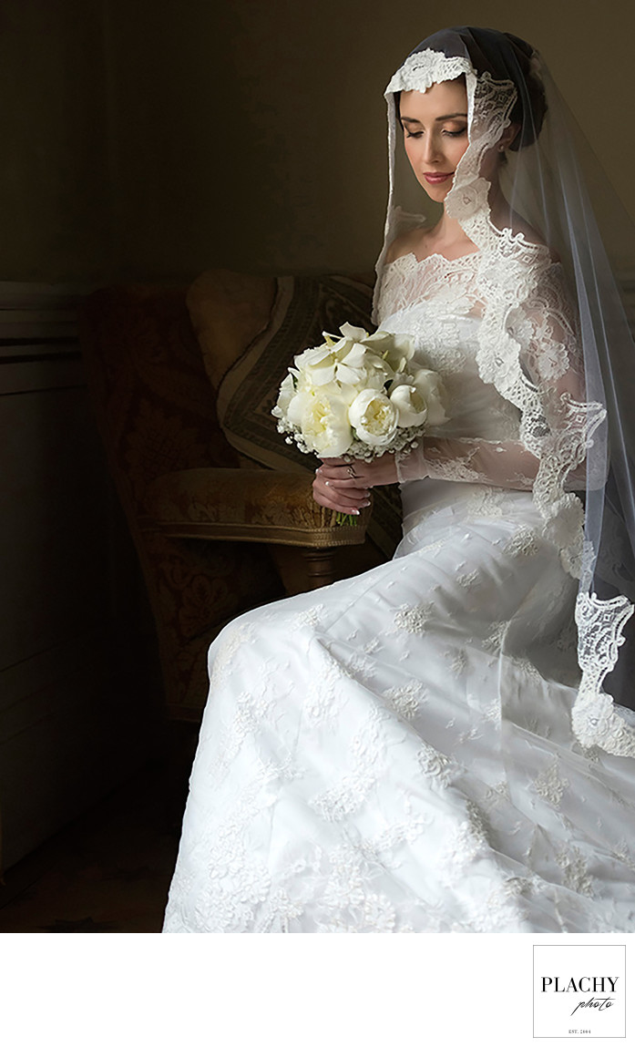 Wedding In Firenze Bridal Portrait Of Beautiful Bride