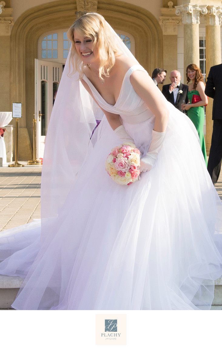 Wedding Photography of the  Bride in Barcelona
