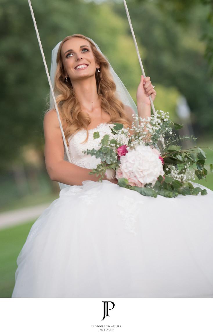Bride Portrait during Photo-session Photo Jan Plachy