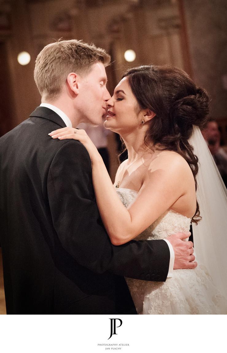 Vienna Destination Wedding Photographer first dance