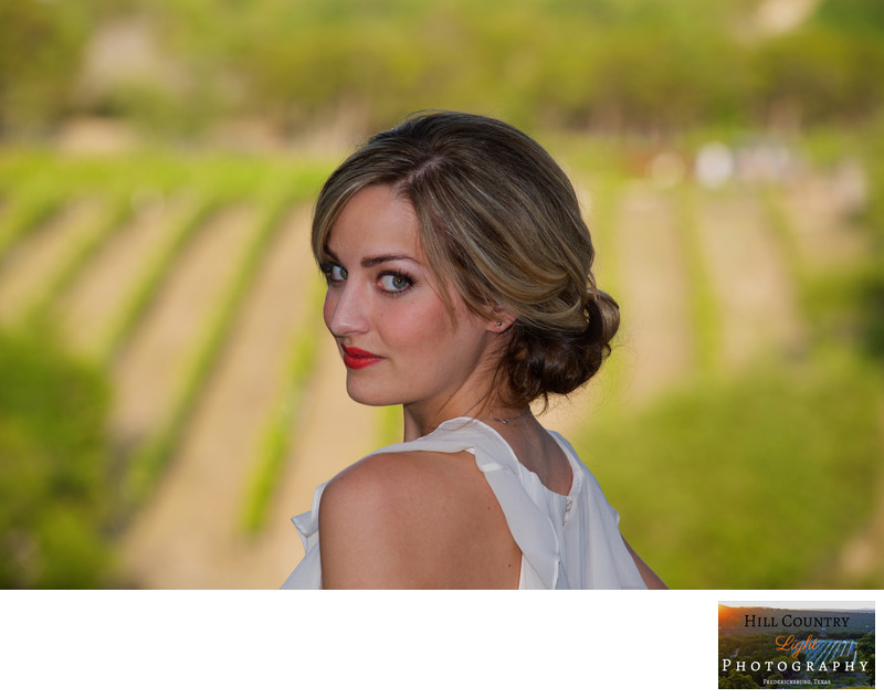 Bride portrait at Hawks Shadow Estate Dripping Springs