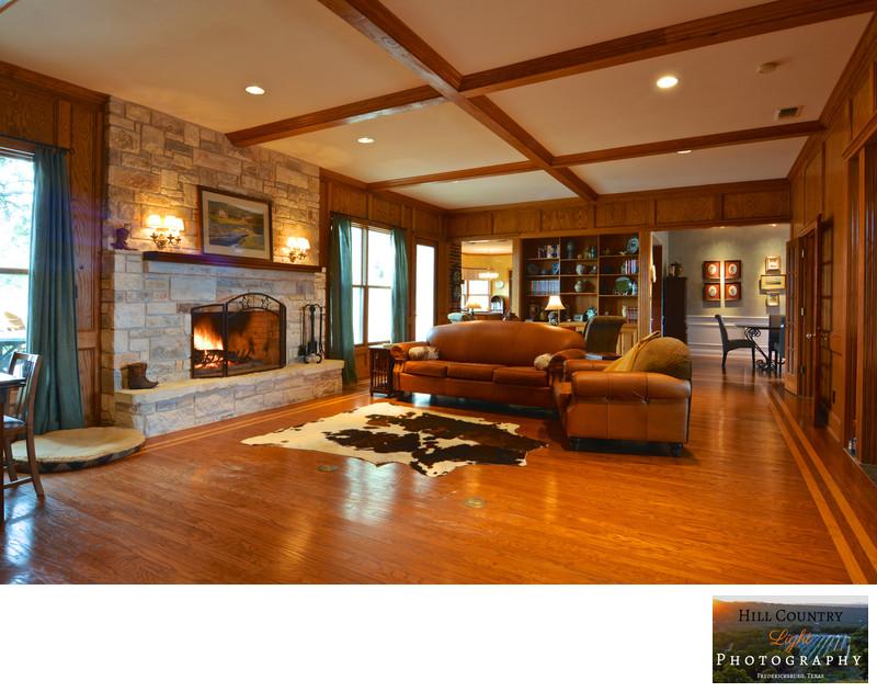 Interior estate ranch home for sale Fredericksburg TX