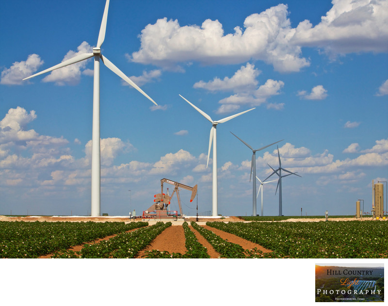 Wind, Oil, and Cotton in West Texas Farm Energy