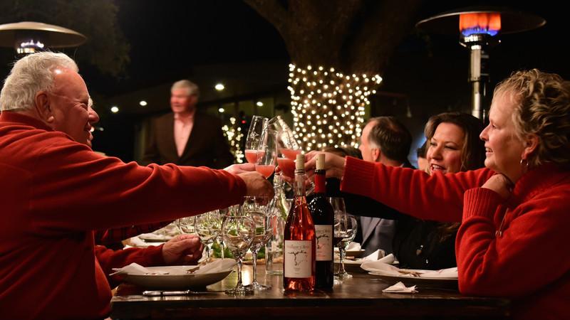 Holiday Toast at William Chris Vineyards Wine Club