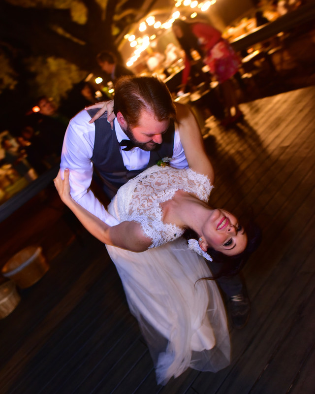 First Dance bride and groom Hye Texas Winery Wedding