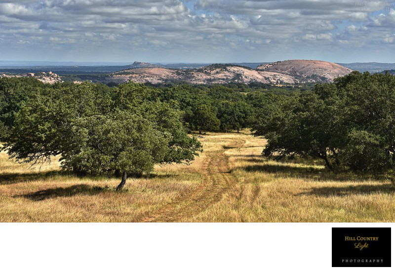 Great views of Enchanted Rock for Summers Ranch
