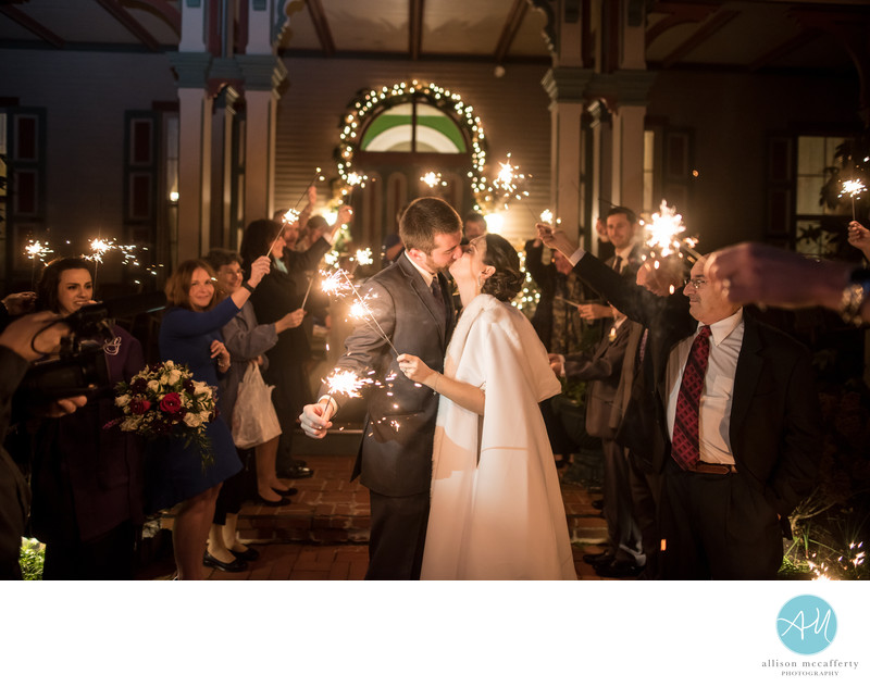 The Southern Mansion Winter Wedding photos