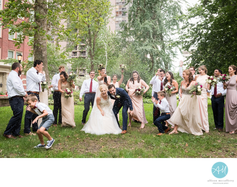 Washington Square Philadelphia Wedding Photo