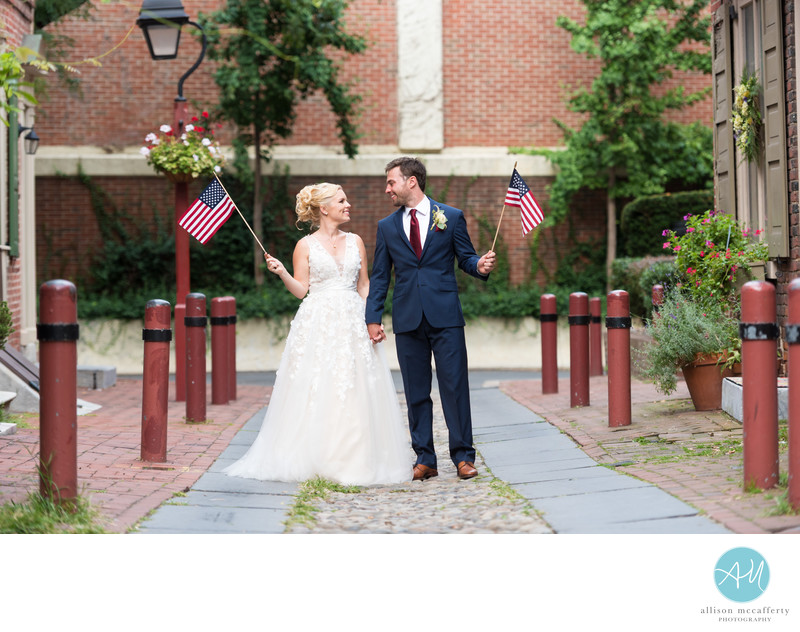 Elfreth's Alley Wedding Photos