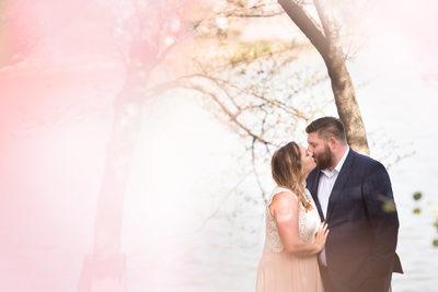 Engagement Photographer Washington DC Cherry Blossoms