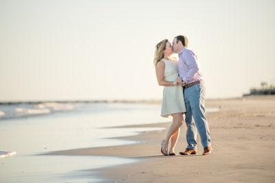 Wildwood Beach Engagement Photos