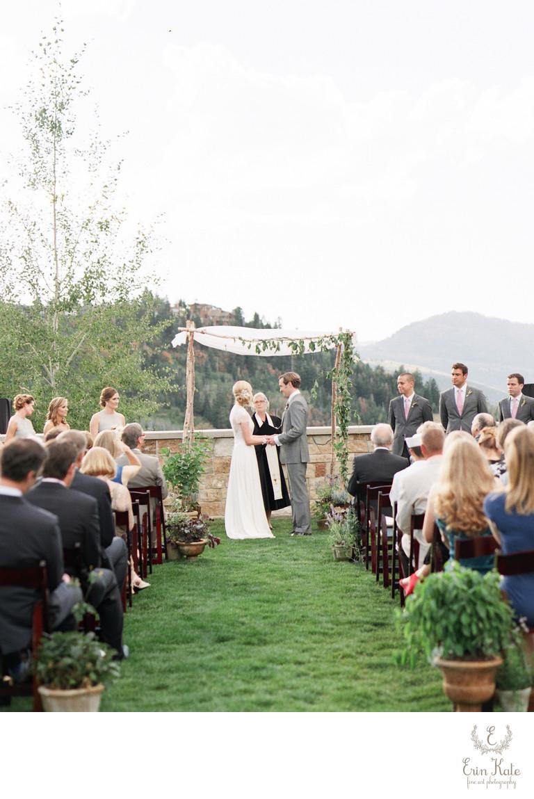 St. Regis Deer Valley Wedding Photographer