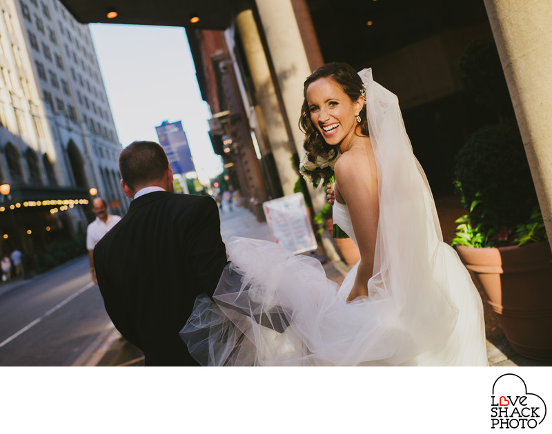 Best Wedding Photographer for the Kimmel Center