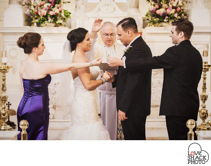Wedding Ceremony in Philadelphia