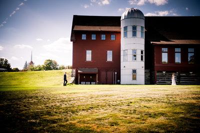 summer wedding Barn gibbet Hill