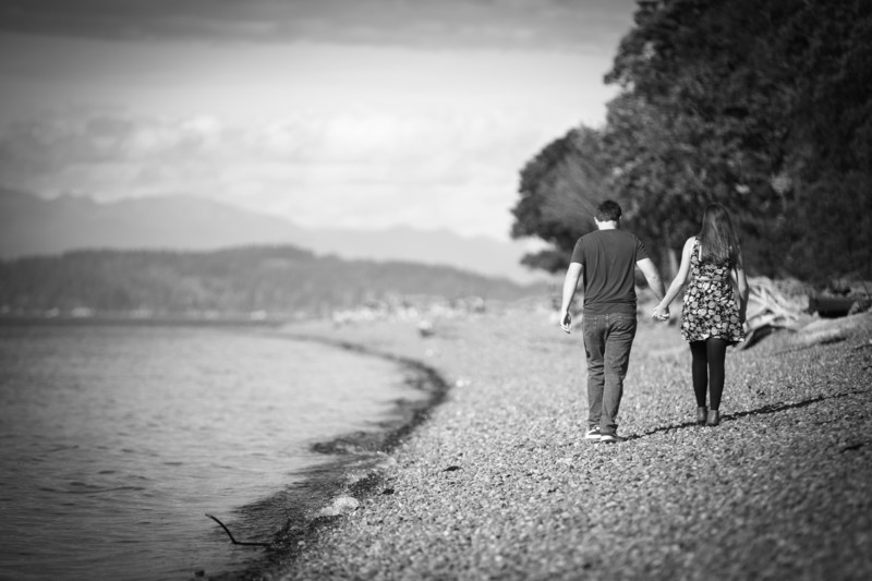 Lincoln Park Engagement Photographer | West Seattle