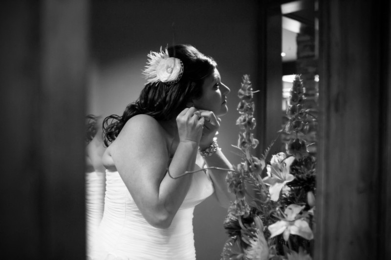 Wedding Photo at Salish Lodge | Snoqualmie Wedding Photographs