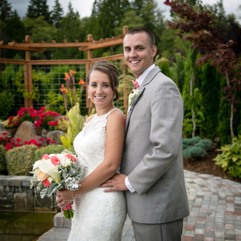 Winding Path Gardens Wedding Photography | Seattle