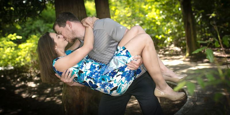 Engagement Photos at Snoqualmie Falls