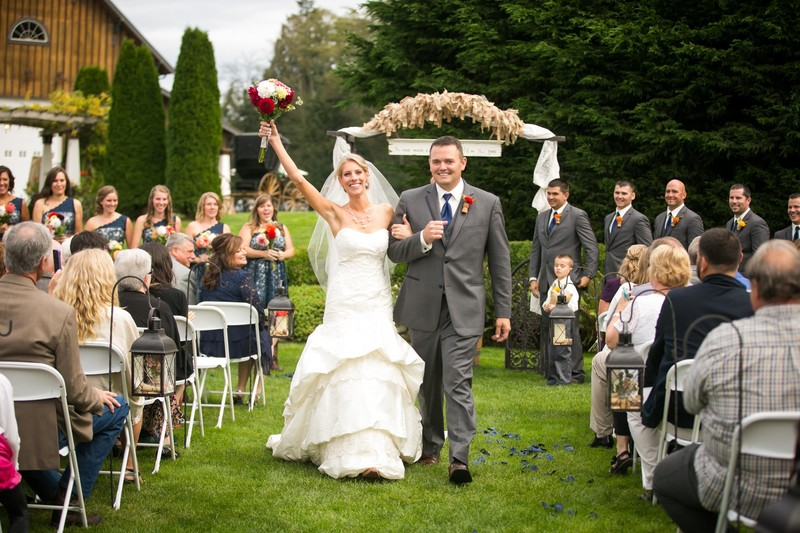 Tazer Valley Farm Wedding Photos   Stanwood   Snohomish