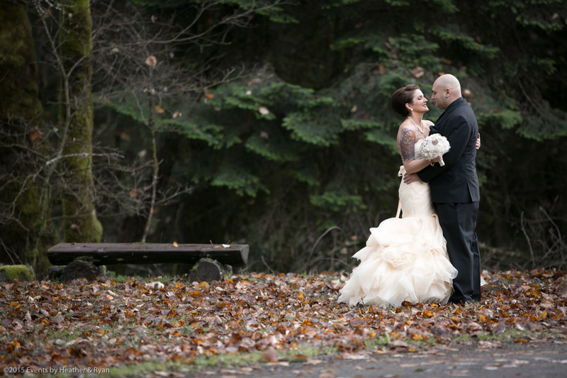 Seattle Wedding Photographer with Bride and Groom