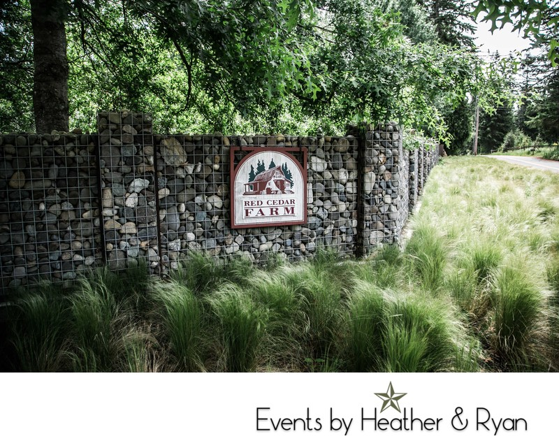 Red Cedar Farm Wedding Photography Venue