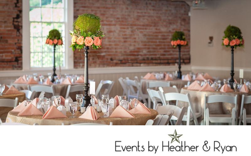 Wedding Reception at Hollywood Schoolhouse