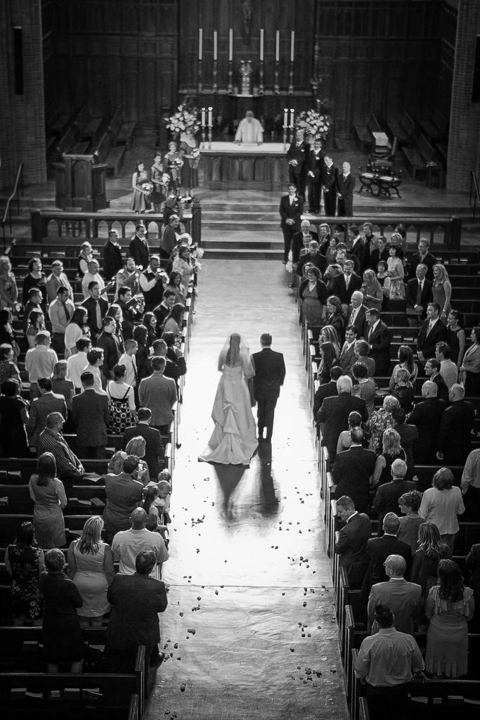 Wedding at Blessed Sacrament Church | Seattle | Bellevue