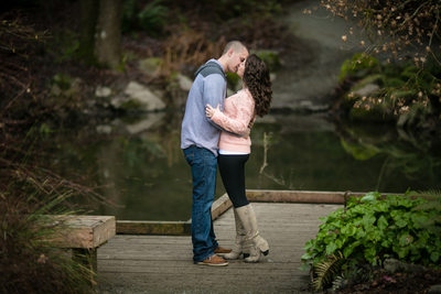 Seattle Arboretum Engagement Photos | University of Washington