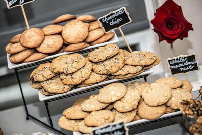Wedding Cake and Cookies at  Edmonds Yacht Club
