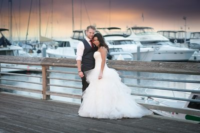 Wedding Photo at Edmonds Yacht Club in Edmonds   Snohomish