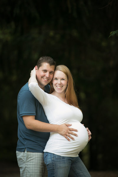 Seattle Maternity and Pregnancy Photography Photographer Bothell Landing Park