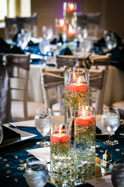 Monte Cristo Ballroom Wedding Photography Tables