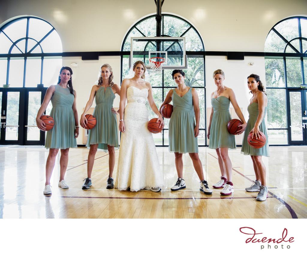 basketball bride
