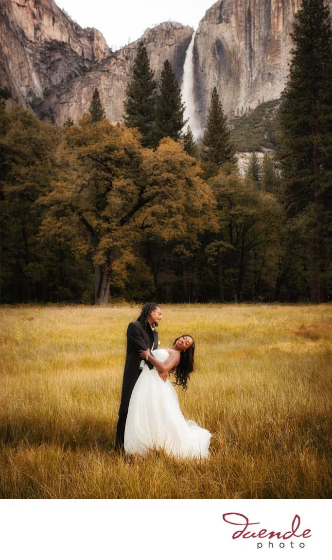 African American Couple Yosemite