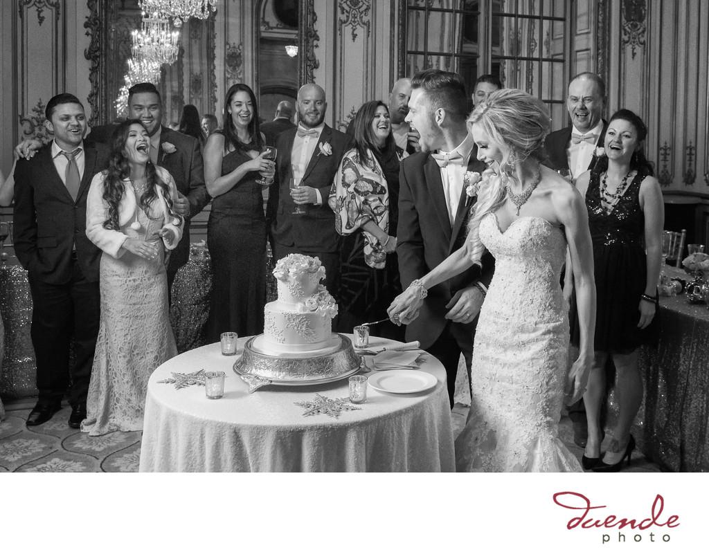Wedding Photographer Fairmont Hotel San Francisco