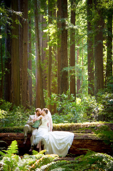 Couple in the Redwoods