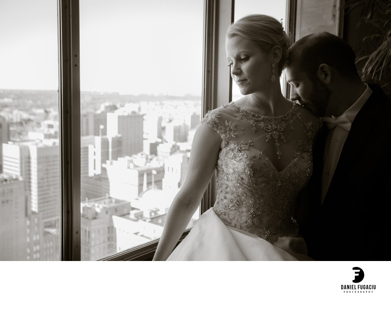 Lowes Hotel Philadelphia wedding photographer