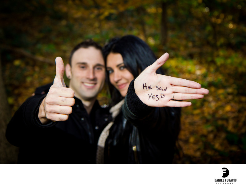 Fairmount park engagement photography